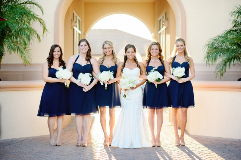 Classic Nautical Florida Wedding via TheELD.com