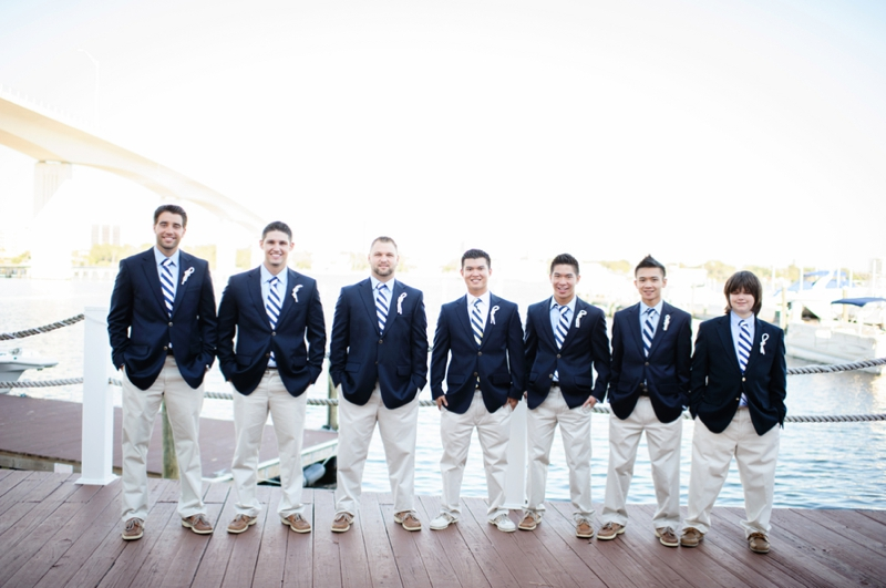 Classic nautical florida wedding every last detail classic nautical florida wedding via theeld junglespirit Gallery