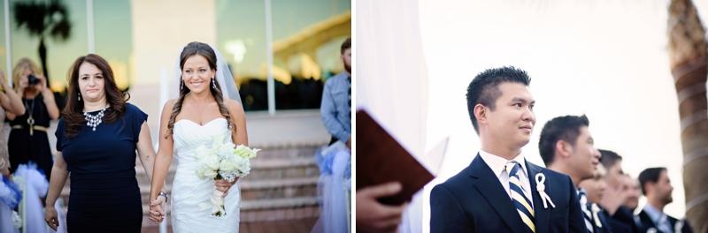 Classic Nautical Florida Wedding via TheELD.com