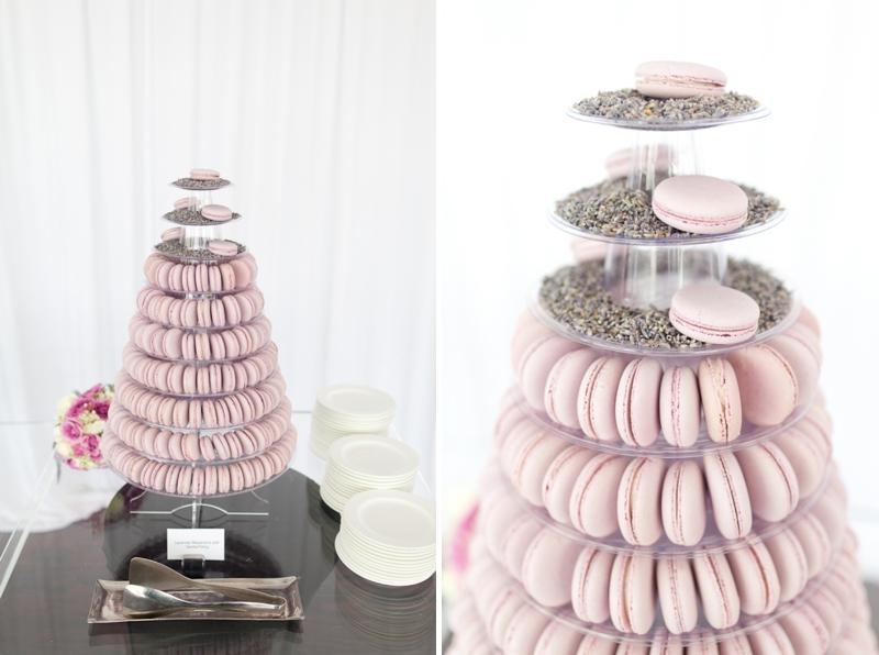 Lavender and White Sunday Brunch Florida Wedding via TheELD.com