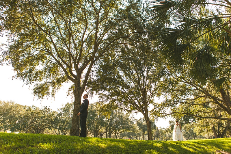 Modern Black and White Florida Wedding via TheELD.com