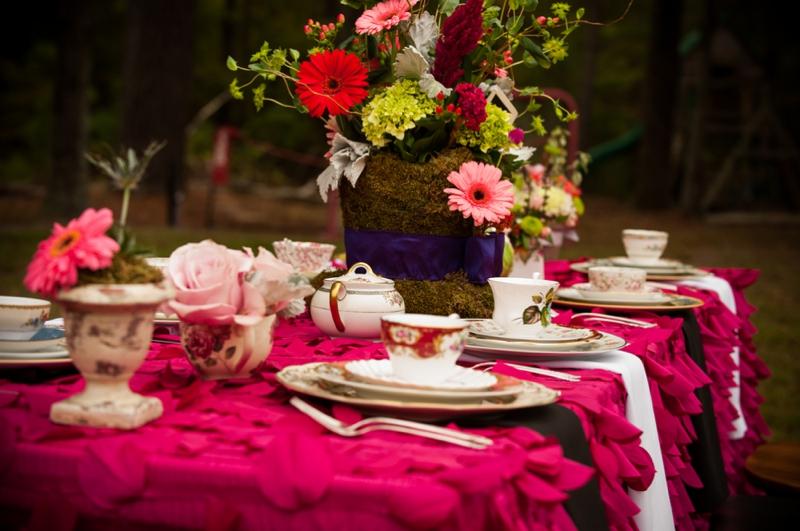 Alice In Wonderland Themed Bridal Shower Every Last Detail
