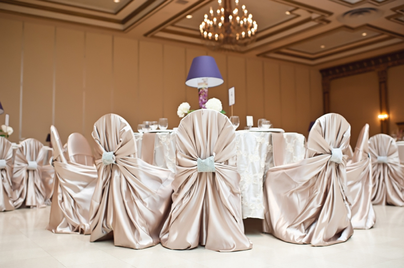 Modern Elegant Champagne and Purple Wedding | Every Last Detail