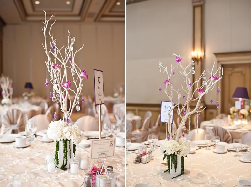 Modern Elegant Champagne and Purple Wedding   Every Last Detail
