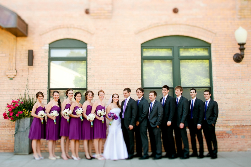 Elegant Travel Themed Purple Vineyard Wedding via TheELD.com