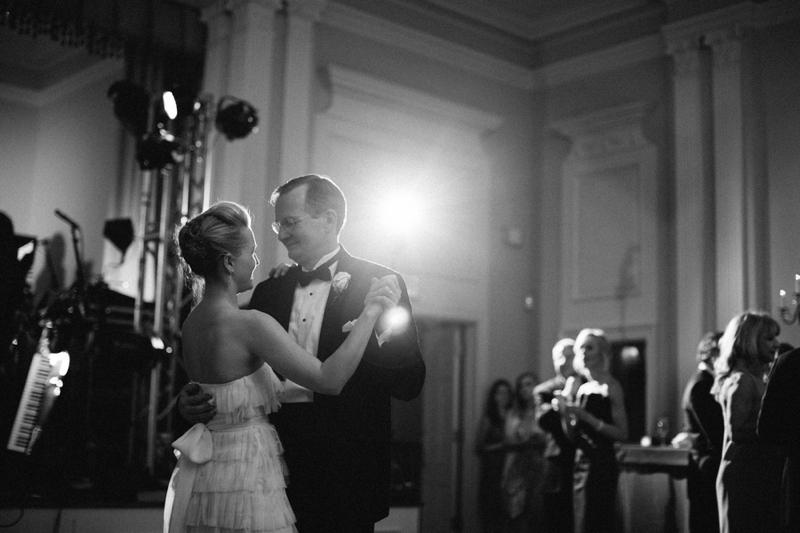 An Elegant Brown Texas Wedding via TheELD.com