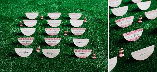 Modern Palm Springs Inspired Bridal Party Attire Ideas via TheELD.com
