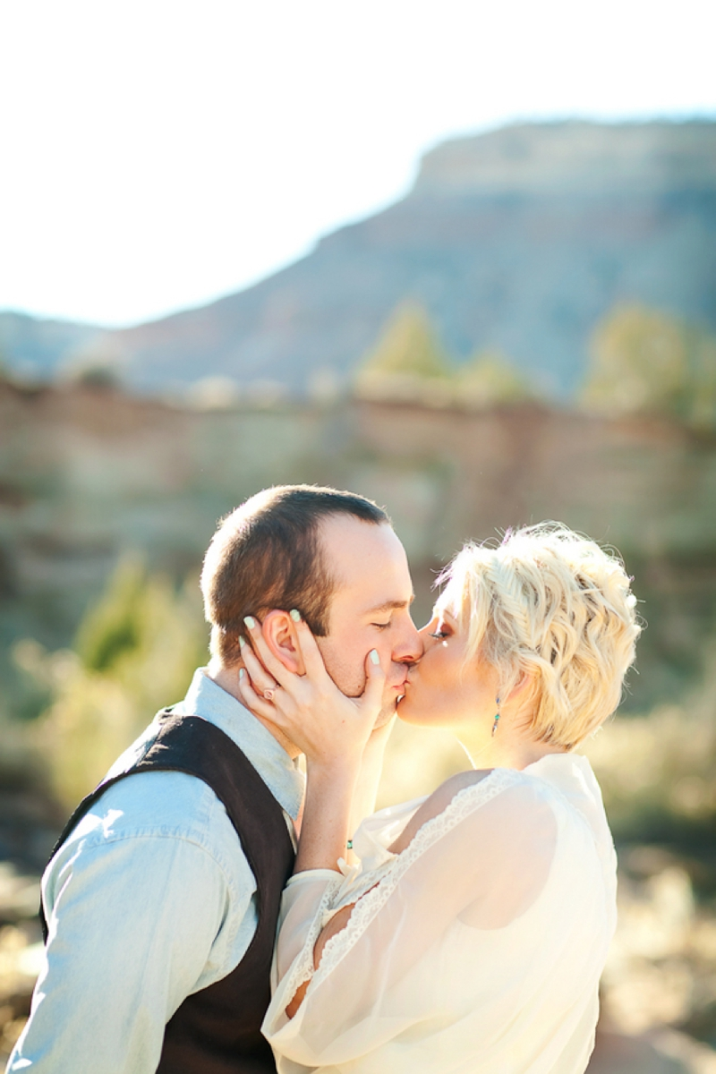 Southwestern Boho Chic Wedding Inspiration via TheELD.com
