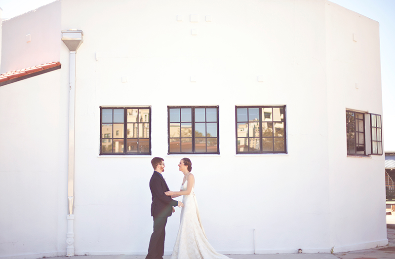 A Shuffleboard Club Vintage Eclectic Wedding via TheELD.com