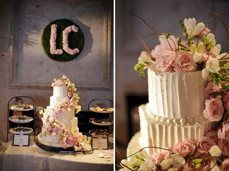 Elegant Enchanted Garden Pink and Green Wedding | Every ...
