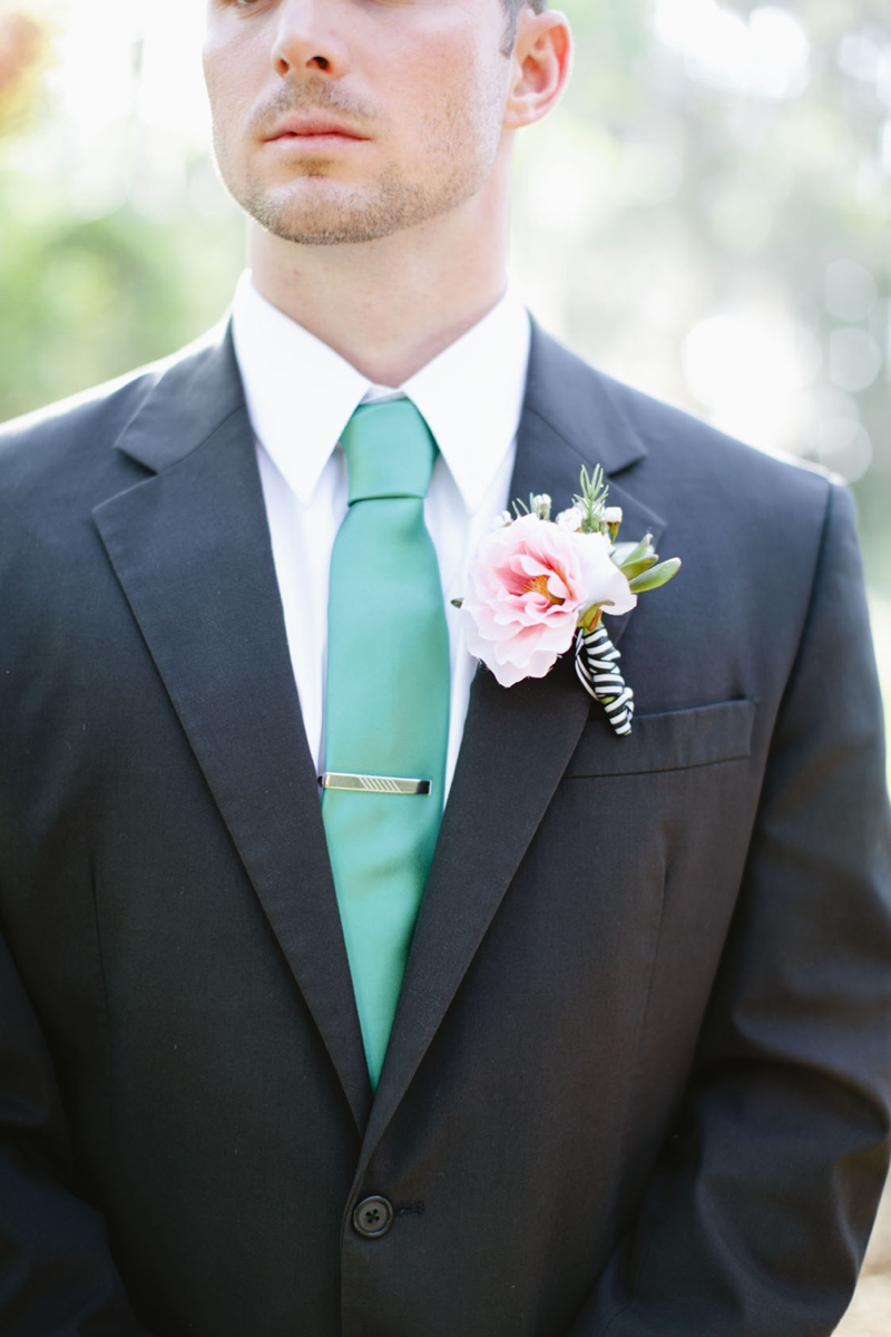 Aqua, Black, and White Wedding Inspiration | Every Last Detail