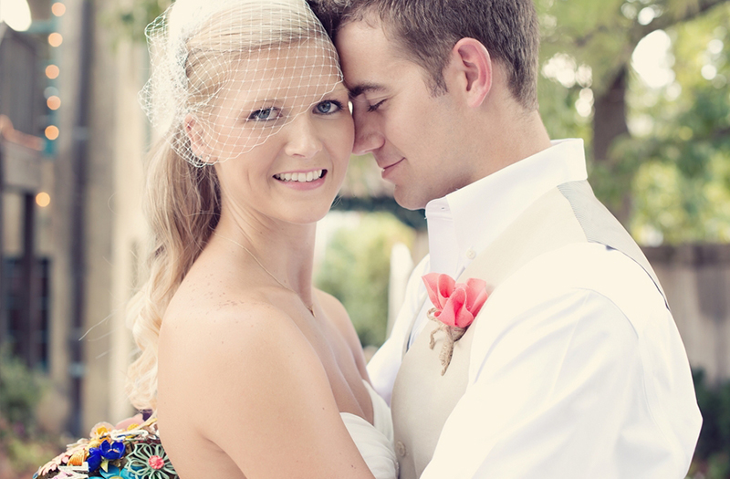Vintage Eclectic Oklahoma Wedding via TheELD.com
