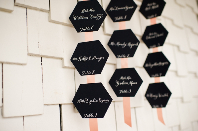 Honeycomb Wedding Ideas {Classic} via TheELD.com