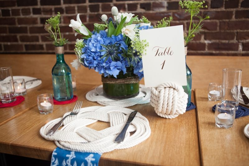 Red, White, and Blue Wedding Ideas {Classic} via TheELD.com
