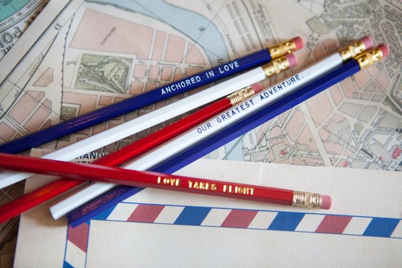 Red, White, and Blue Wedding Ideas {Vintage} via TheELD.com