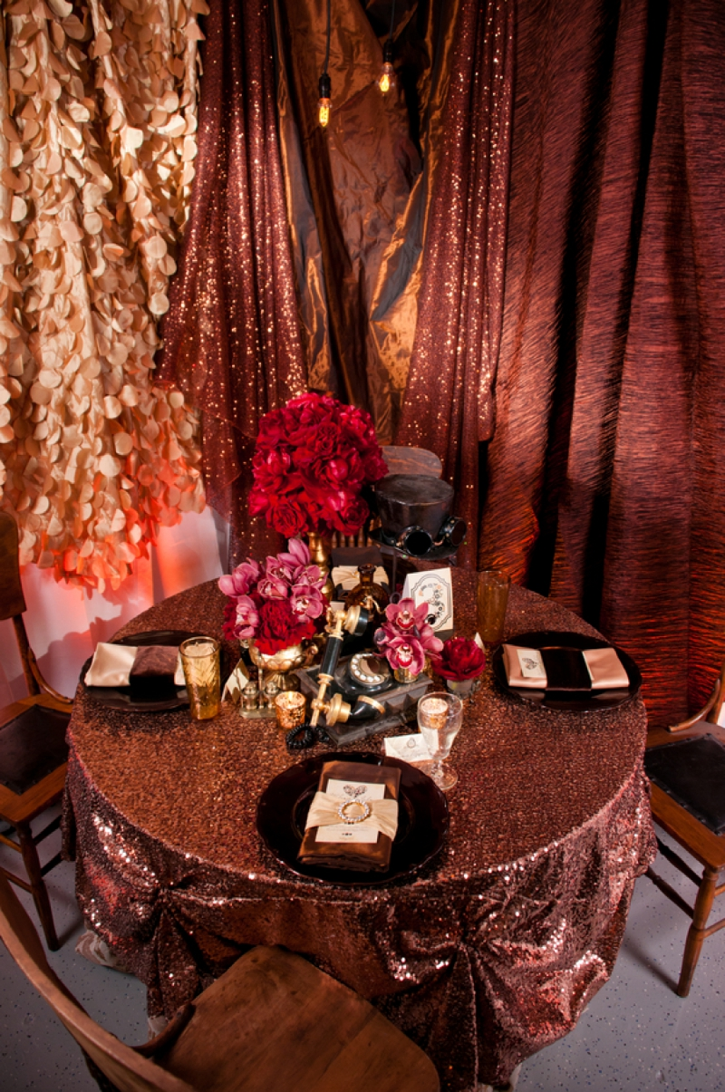 Steampunk Red And Copper Wedding Inspiration Every Last