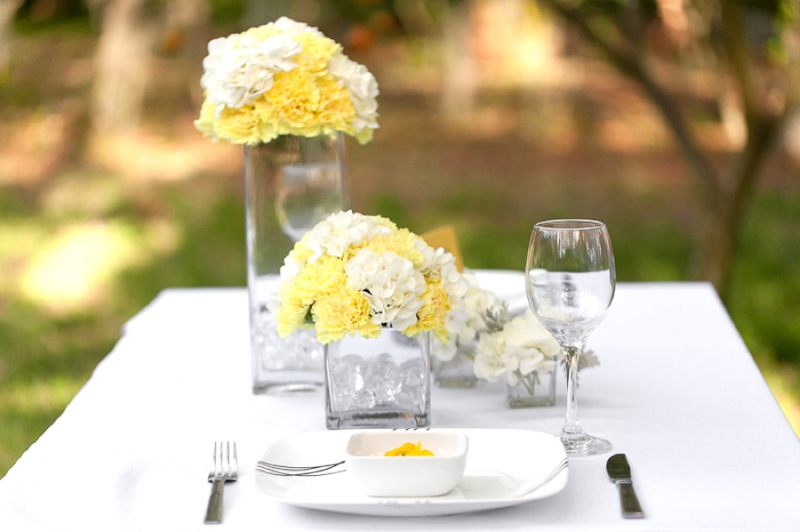 wedding ideas yellow and gray yellow wedding ideas modern every last detail 28367