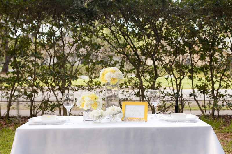 Yellow Wedding Ideas {Modern} via TheELD.com