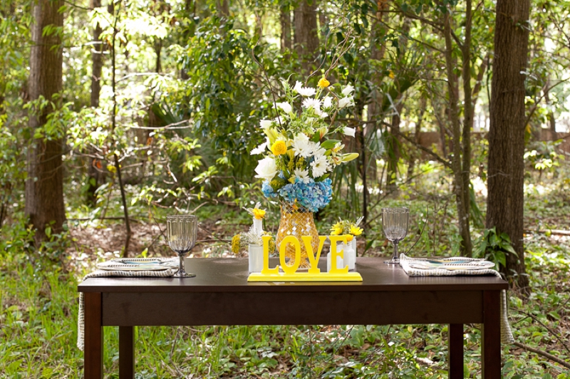 Yellow Wedding Ideas {Eclectic} via TheELD.com