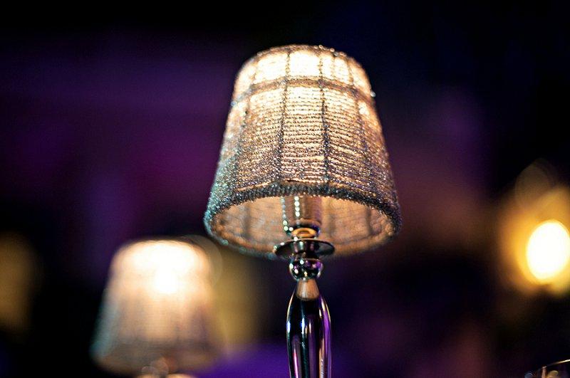 Elegant Purple & White Florida Wedding via TheELD.com