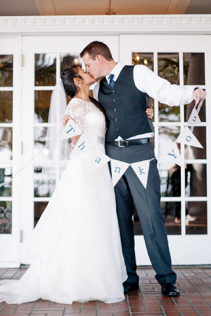Vintage Blue & Gray Florida Wedding via TheELD.com