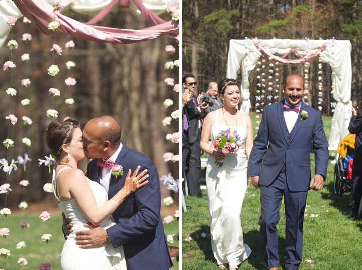 Romantic Pink and Lavender Wedding via TheELD.com