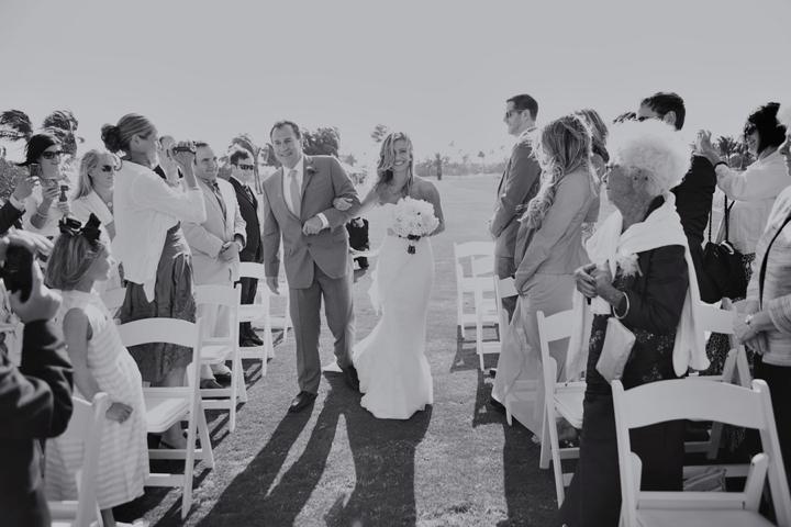 Timeless Garden Inspired Aqua & Peach Wedding via TheELD.com