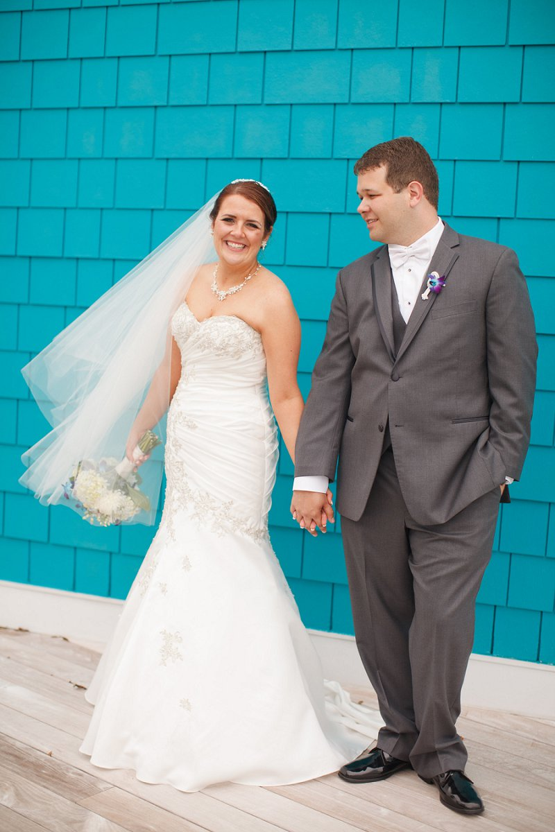 Nautical Eclectic Navy and Aqua Wedding | Every Last Detail