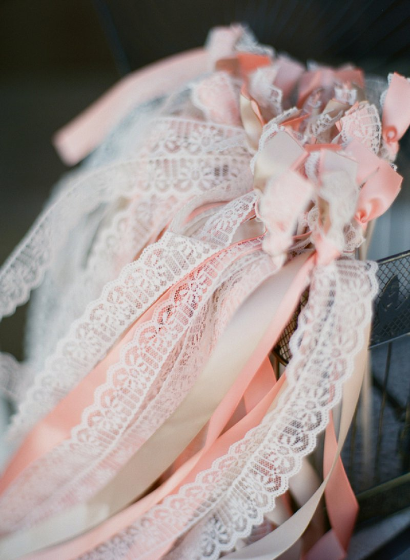 Rustic Blush and White Virginia Wedding via TheELD.com