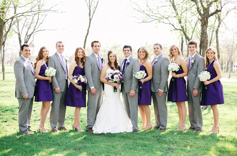 Classic Purple and Gray Texas Wedding 13 | Every Last Detail