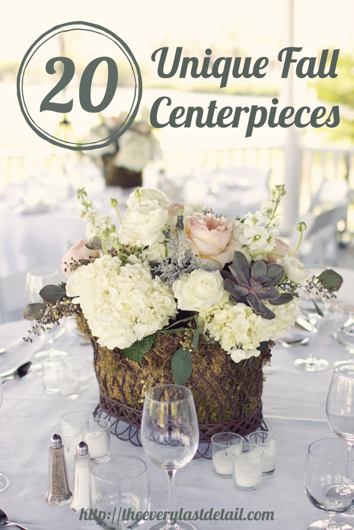 20 Unique Fall Centerpiece Ideas | Every Last Detail
