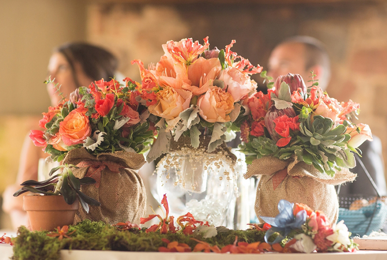 Classic Rustic Coral And Blue New Jersey Wedding 33