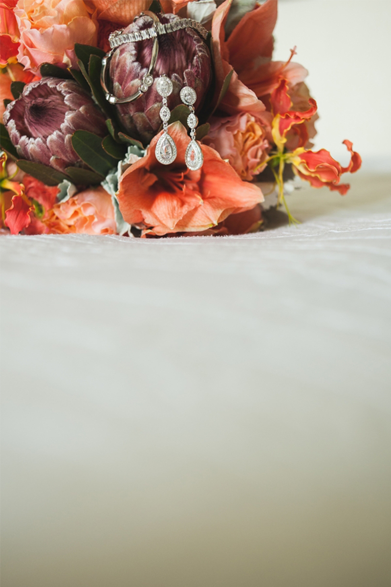 A Fun Rustic Coral and Aqua Wedding   Every Last Detail