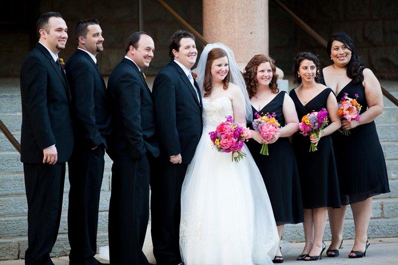 A Colorful Elegant & Eclectic Texas Wedding via TheELD.com