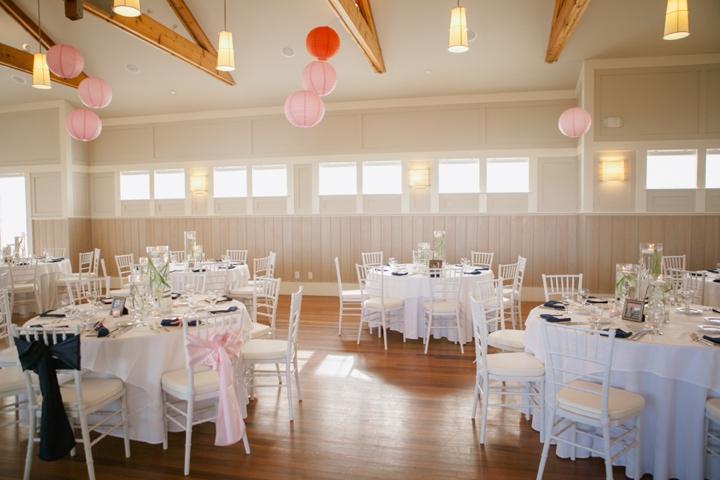 Bald Head Island Pink and Navy Wedding via TheELD.com
