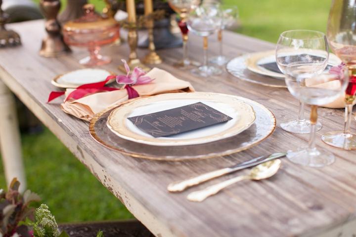 Elegant Equestrian Inspired Wedding Ideas via TheELD.com