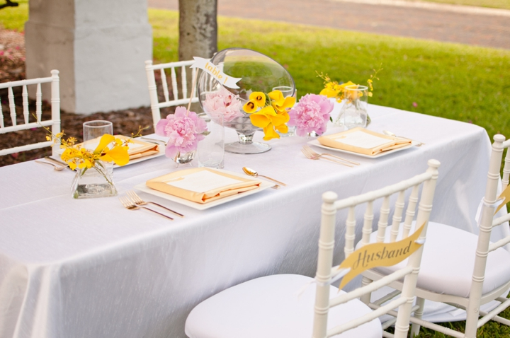 Modern Pink And Yellow Wedding Ideas Every Last Detail