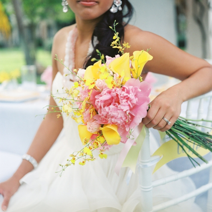 wedding ideas yellow modern pink and yellow wedding ideas every last detail 28366