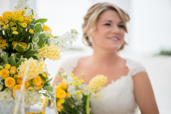 Vintage Yellow Wedding Ideas via TheELD.com