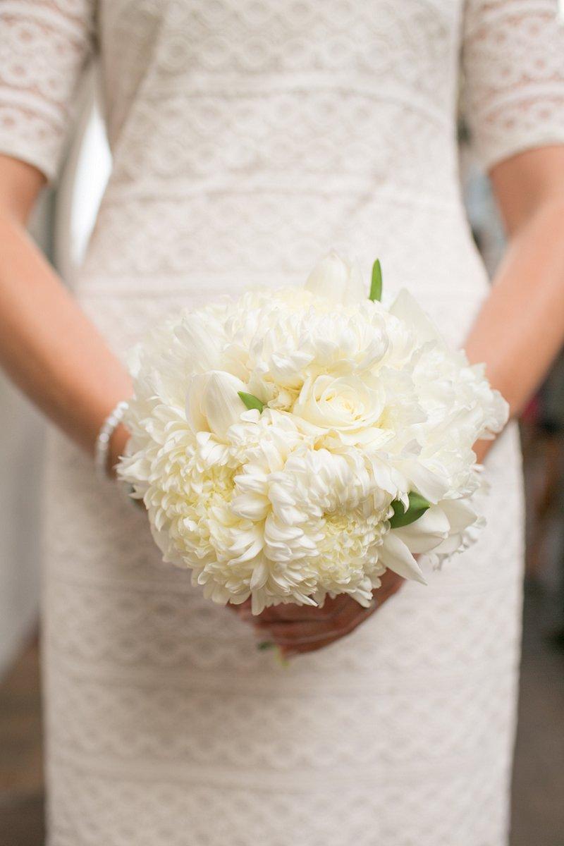 Classic Ivory Florida Wedding With A Southwestern Flair via TheELD.com