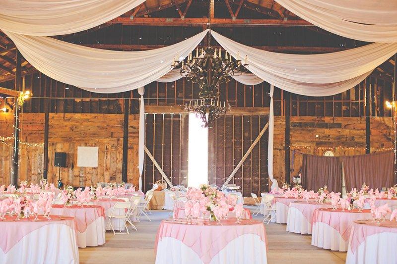 A Pink Rustic California Ranch Wedding via TheELD.com