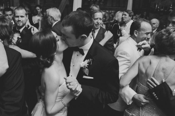 An Elegant Purple and Ivory Barn Wedding via TheELD.com