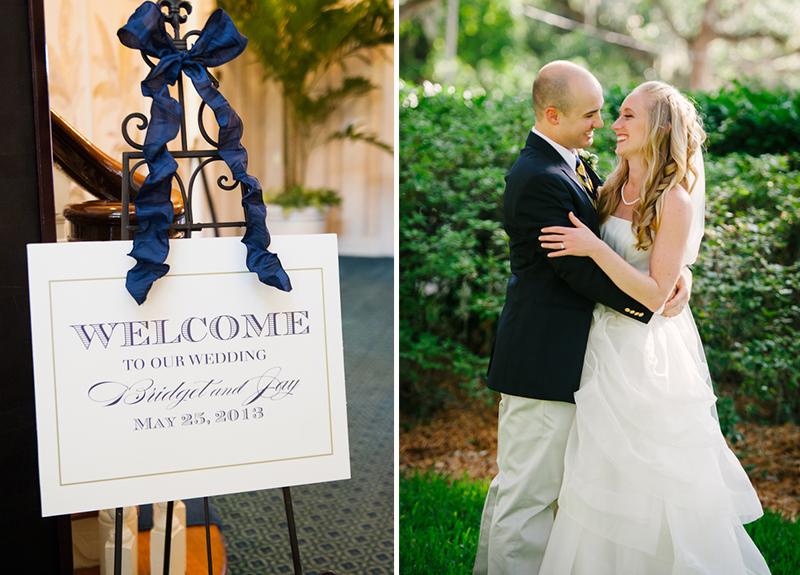 A Classic Nautical Pink and Navy Wedding via TheELD.com
