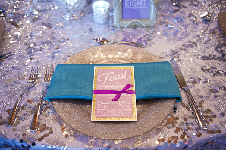 New Years Radiant Orchid Wedding Inspiration via TheELD.com