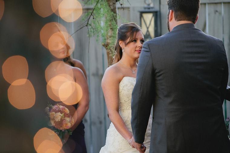 A Romantic Purple Wedding via TheELD.com