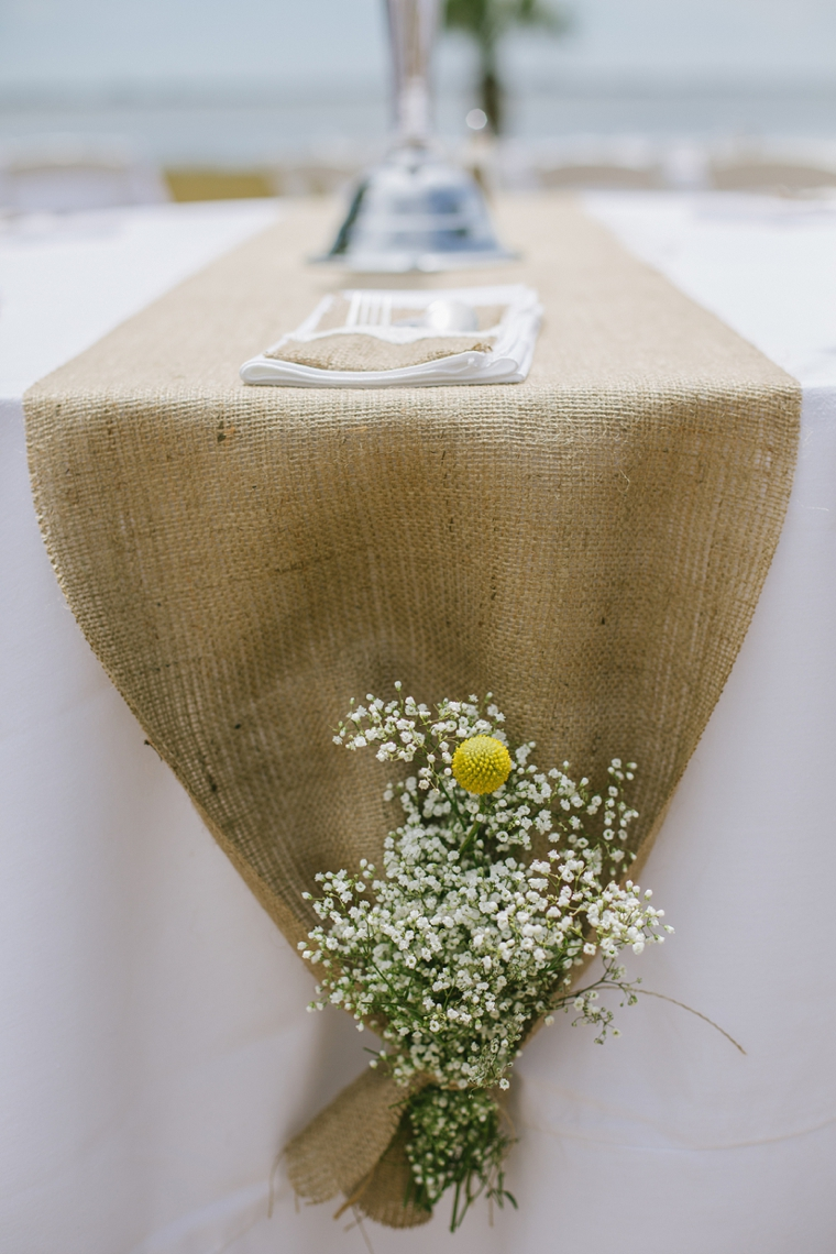 Rustic Chic Yellow and Gray Wedding via TheELD.com
