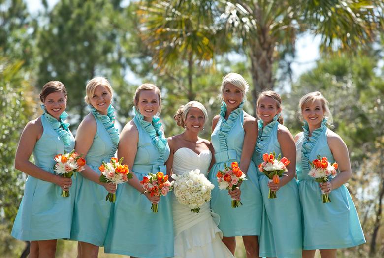 Rustic Aqua and Orange Wedding | Every Last Detail