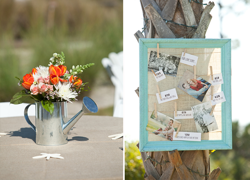 Rustic Teal And Coral Mexico Wedding 27