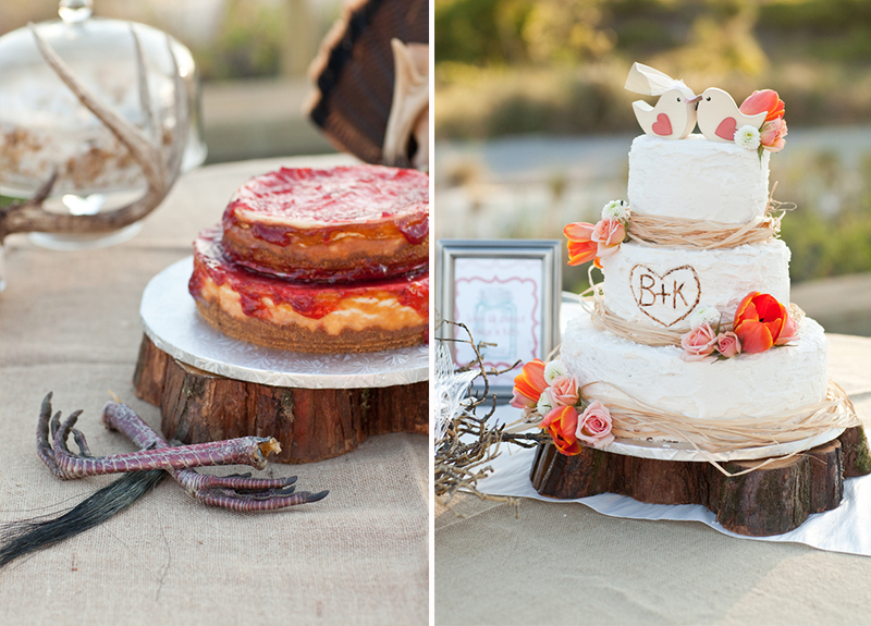 Rustic Teal And Coral Mexico Wedding 29