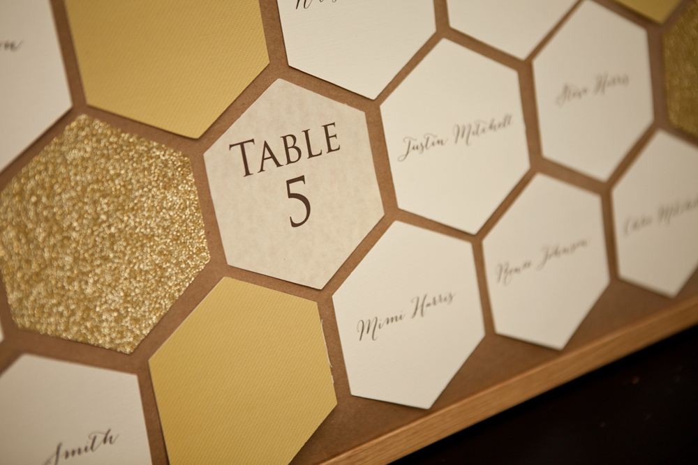 5 unique escort card ideas every last detail for Table 52 cards 2014